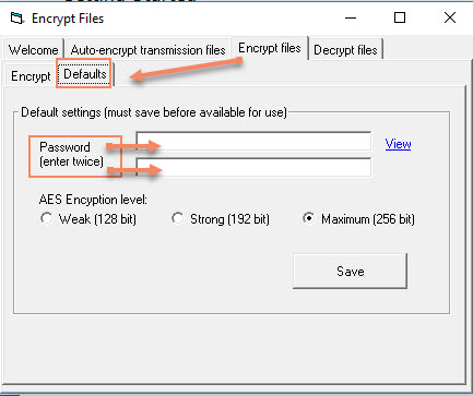 File Encryption - AES 256 – Treasury Software